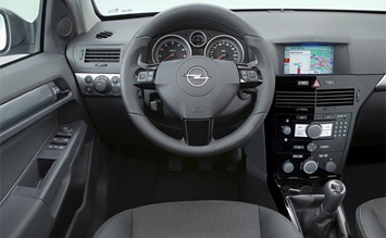 Interior » 2008 Opel Vectra