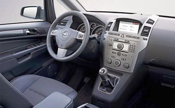 Interior » 2008 Opel Zafira 5+2 New