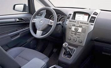Interior » 2010 Opel Zafira 5+2 pax