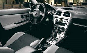 Interior » 2008 Субару Импреса Спорт