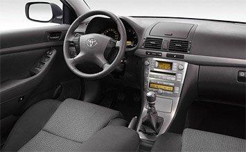 Интериор » 2008 Тойота Авенсис