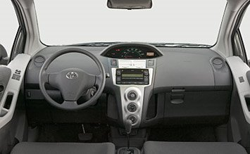 Интериор » 2008 Тойота Ярис