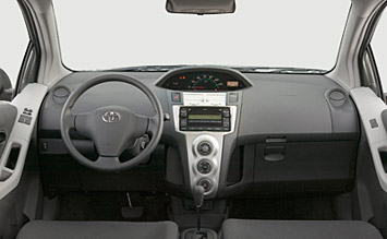 Interior » 2008 Toyota Yaris