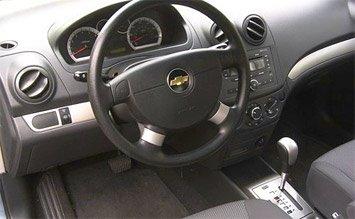 Interior » 2009 Chevrolet Aveo