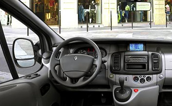 Interior » 2009 Renault Trafic 8+1 - photos