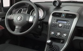 Interior »  2009 Suzuki Splash 1.2