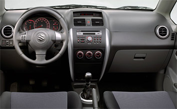 Interior »  2009 Suzuki Swift 1.3