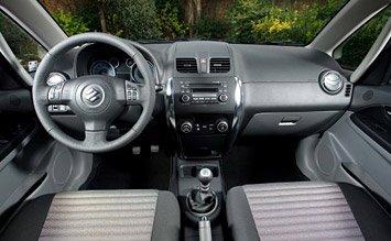 Интериор » 2009 Сузуки SX4 4WD