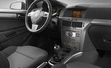 Interior » 2010 Opel Astra Automatic