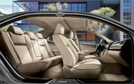 Interior - 2010 Toyota Camry AUTO
