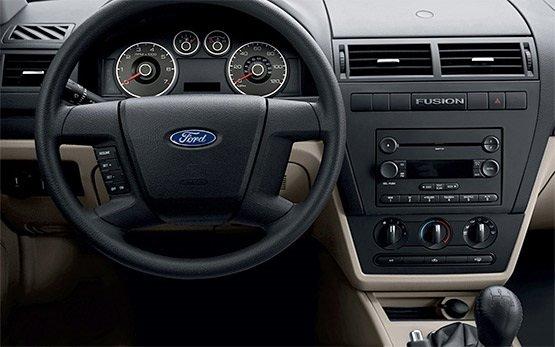 Interior - 2012 Ford Fusion 1.4