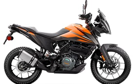 KTM 390 Adventure - наем на мотоциклет Женева