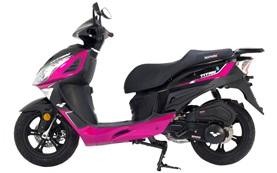 Lexmoto Titan 125cc - scooter rental Albufeira