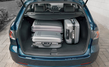 Luggage compartment » 2003 Mazda 6 Kombi