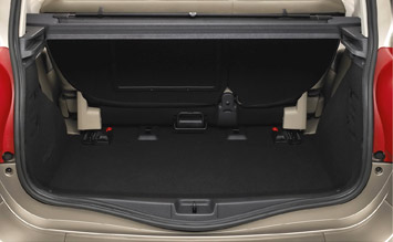 Luggage compartment » 2005 Renault Modus