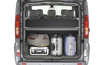 Luggage compartment » 2005 Renault Trafic