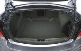 Luggage compartment » 2007 Opel Vectra C