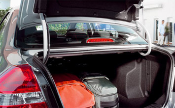 Luggage compartment » 2008 Chevrolet Aveo