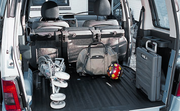 Luggage compartment  » 2008 Citroen Berlingo 1.4