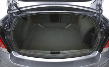Luggage compartment » 2008 Opel Vectra C