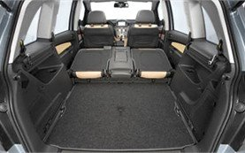 Luggage compartment » 2010 Opel Zafira 5+2 pax