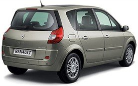 Luggage compartment  » 2008 Renault Grand Scenic