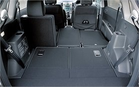 Luggage compartment » 2008 Toyota Corolla Verso