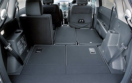 Luggage compartment » 2012 Toyota Corolla Verso