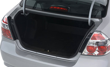 Luggage compartment » 2009 Chevrolet Aveo