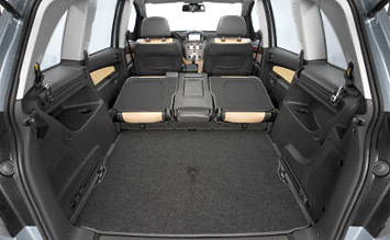 Luggage compartment » 2009 Opel Zafira 5+2