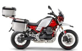 Moto Guzzi V85TT - motorcycle rental in Geneva