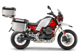 Moto Guzzi V85TT - motorcycle rental in Spain