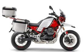Moto Guzzi V85TT - motorcycle rental in Spain