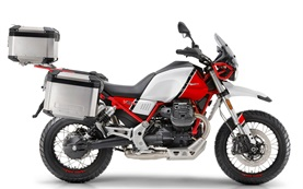 Moto Guzzi V85TT - motorcycle rental Spain