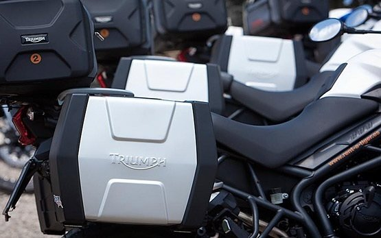 Triumph Tiger XC 800 - прокат мотоциклов в Испании