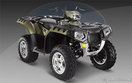 ATV Polaris Sportsman 500cc para alquilar