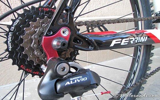 2013 FERRINI bicycle - rear derailleur