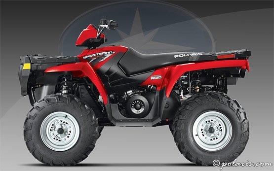 Polaris Sportsman 500cc - alquiler de quads