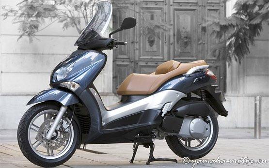 Скутер Ямаха X-City 250cc - аренда скутеров в Салониках