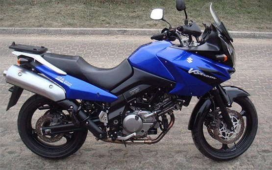 2006 Suzuki V Strom 650cc Motorcycle Rental In Thessaloniki Greece