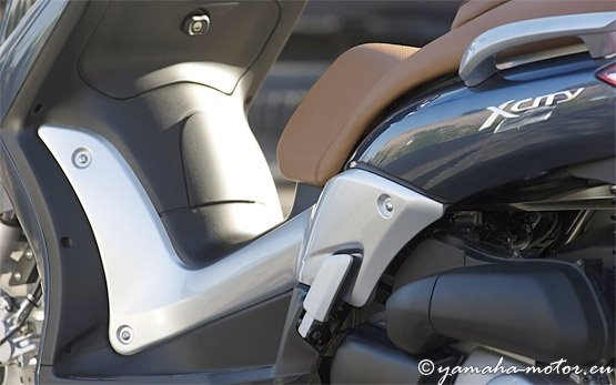 Ямаха X-City 250cc - прокат скутеров в Салониках