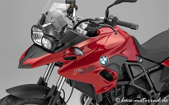 BMW F 700 GS - motorcycle for rent Nice