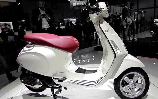 2013 piaggio vespa 125cc prima scooter rental in sardinia - olbia