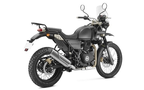 Royal Enfield Himalayan 411 off-road - motorcycle rental Barcelona