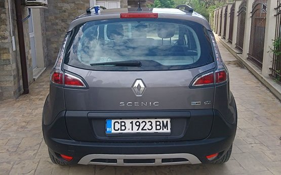 Rear view » 2016 Renault Scenic 1.5 d
