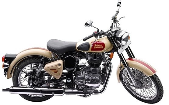 Rent Royal Enfield Classic 500 - motorbike rental Nice