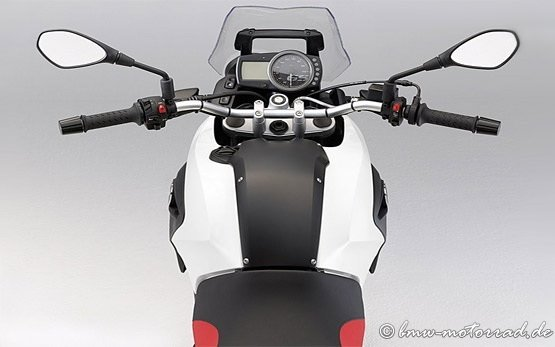 2013 BMW G 650 GS - Vista superior