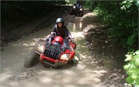 Adventure ATV ride in Bulgaria