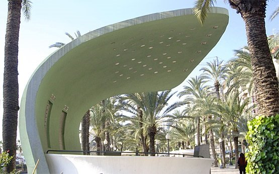 Alicante - Esplanada kiosk