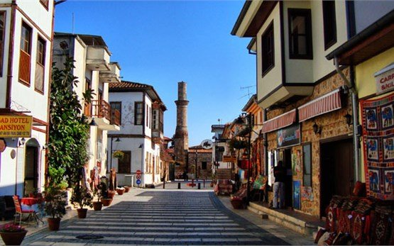 Antalya old city